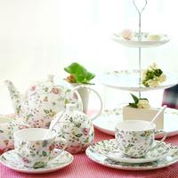 Afternoon tea set fashion bone china ceramic teapot cup set tea set gift
