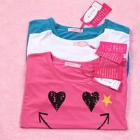 Xxxxxl plus size clothing plus size plus size summer loose short-sleeve T-shirt female plus size batwing loose shirt female