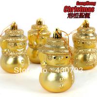 Christmas tree ornaments Christmas tree ornaments exquisite high 8cm 100g light Christmas Snowman