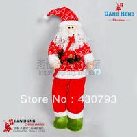 Santa Claus Christmas gift decoration supplies 76 *8cm  960g