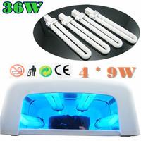 220V 36W Fashion UV Gel Shellac Acrylic Curing Light Lamp Nail Dryer Drying