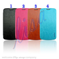 Flip case for galaxy Active.luxury western style Flip leather case for samsung galaxy s4 active i9295 Free shipping