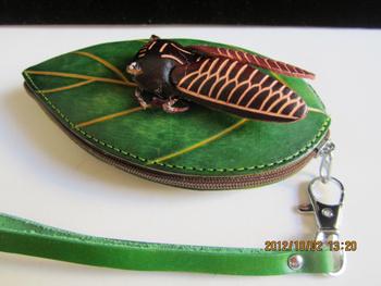 Genuine leather coin purse female cartoon coin case three-dimensional small red flowers handmade cute little bag