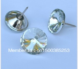20mm Crystal buttons for sofa furniture decoration 100pcs/lot