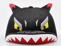 2013 new arrival embroidery hats flex fit cartoon caps upturned brim caps bboy cute caps baseball cap hiphop cap hip-hop cap