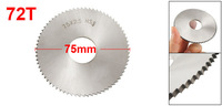 75mm x 22mm x 2.5mm 72T HSS Circular Slitting Saw Blade Cutter