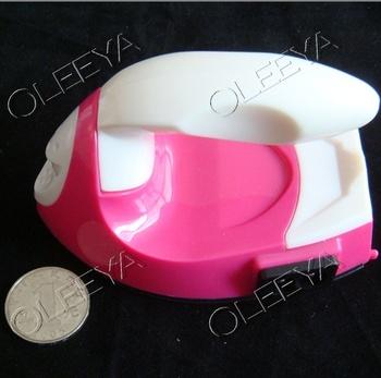 1pcs/lot Pink Iron-on Hot Fix Hotfix Applicator Wand Crystal Gem Rhinestone  Heatfix Tool look for dealer agent ! Y2622