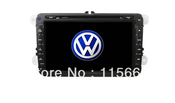 "Free shipping!!!  8"" VW Magotan/Passat/Golf/Seat/Tiguan DVD GPS+3D Rotating UI+POD+Buletooth+TV+radio"