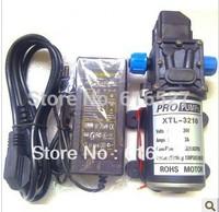 Free shipping  2014 0142Y(H)A(B) 12V 60W micro diaphragm pump with power discharge high pressure thread water pump wash car