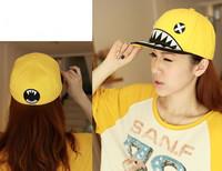 2013 new arrival fitted cap flat brim cap Snapback shark hat embroidery bboy k-pop caps baseball cap hiphop cap hip-hop cap