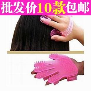 Multifunctional 3431 shampoo brush scalp massage device comb tools