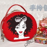 Cmc cross stitch kit stereo fashion bag chic ss002 coin purse