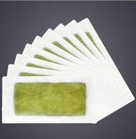 50Pcs/lot Hair Removal Cream Depilatory Nonwoven Epilator Wax Strip Paper Pad Patch Waxing For Face / Legs / Bikini