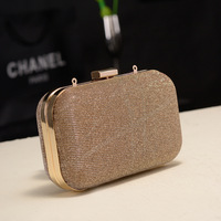 2013 new arrival  women handbags paillette bag day clutch evening bags  with shoulder chain cosmetic bag mini bag free shipping