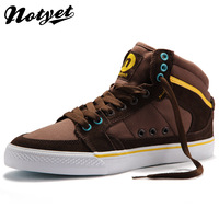 Notyet high-top canvas shoes male the trend of fashion shoes casual shoes men's boots p396  free shipping