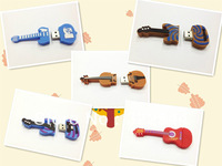 16GB Guitar USB Flash Memory Stick 16GB Guitar USB Flash Drives 16GB Guitar Shape USB Disk 16GB USB Flash Memory