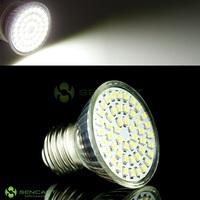 E27 3.5W 6500K 195-Lumen 48-SMD LED White Light Bulb