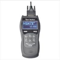 Auto Code Scanner Multi-launguage Vgate Scan Tool VS890 Free shipping   5pcs/lot