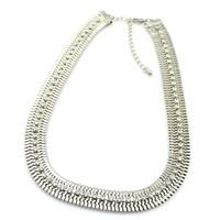 74pcs dazzling rhinestone necklace l SWEATER ,Free Shipping fashion Jewelry collar chain48cmmix mini order is $ 15 XSJ