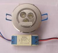 3W LED Ceiling Light Down light Recessed Lamp Warm White 85V-265V Energy Saving lamp