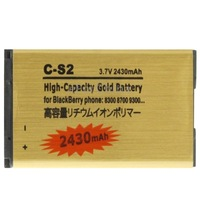 Brand New 2430mAh C-S2 High Capacity Golden Edition Business Battery for BlackBerry 8300 8700 9300