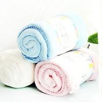 Weiwei baby blankets plain 70 100cm