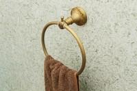 Fashion vintage copper bathroom towel hanging ring carved towel ring towel ring towel hanging 5017