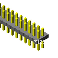 Samtec connector fts-104-01-l-dv
