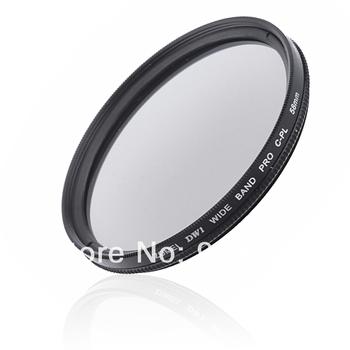 Zomei 58 mm 58mm CPL Slim Circular Polarizer Ultrathin Lens Filter for SLR Camera