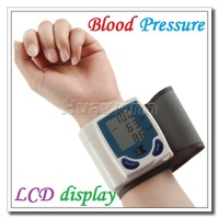 High quality Digital Wrist Blood Pressure Monitor & Heart Beat Meter with LCD display CK-101A Dropshipping