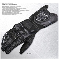 New Mens Driving Pilot Racing Bicycle Motorcycle Cycling Acerbis Leather Gloves