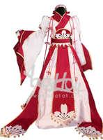 RL069146 Clamp Sakura Red-pink Lolita Dress Cosplay Costume Make Size S/M/LXL