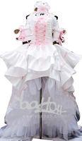 RL06968 Chobits Chii Pink White Gorgeous Lolita Cosplay Costume Size S/M/L/XL