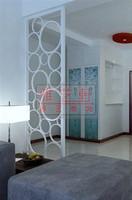 Iron screen partition entranceway muons home decoration partition