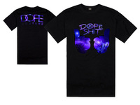 ree shipping 2013 men's t shirt fashion DOPE high quality hip hop Cotton t shirt size, S M L XL XXL XXXL