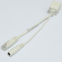 Passive PoE Injector Cable Power Over Ethernet Injector with 5.5*2.1mm Plug