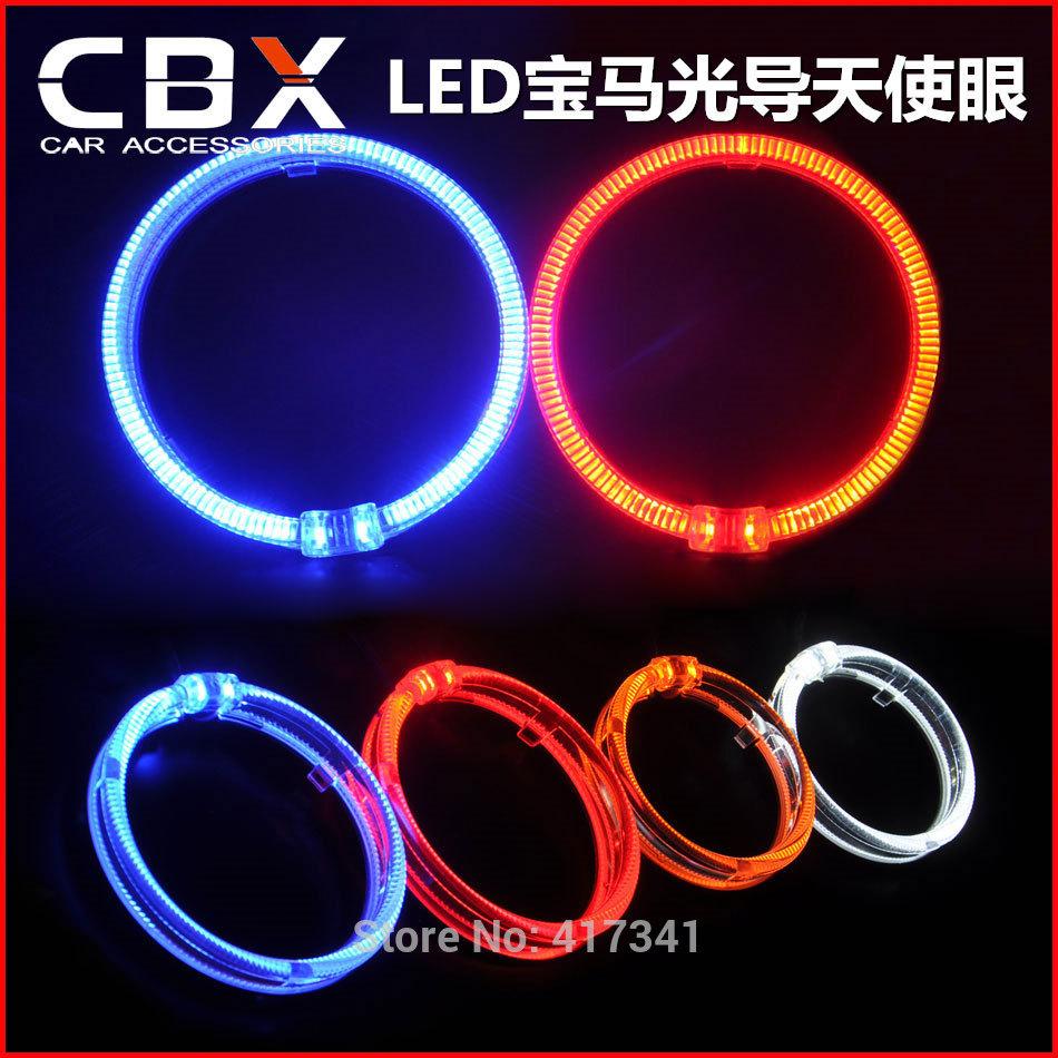 Free Shipping Super Brightness LED Light Guide Angel Eye 2  -> Wandleuchte Led Ring