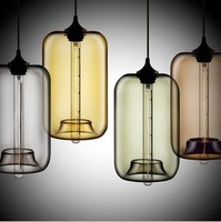 "Hot selling Niche Modern glass pendant lamp ,Pod Modern Pendant Light by Jeremy Pyles (7""dia x 12""H"")"