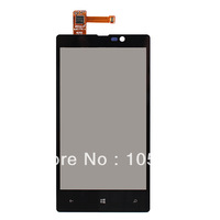 5pcs/lot  New Outer Digitizer Touch Display Glass Screen For Nokia Lumia 820 N820 Free Shipping+ Track Number