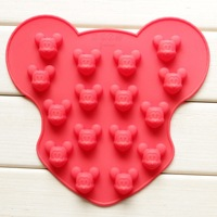 16 Holes Mickey Muffin Mould Silicone cake Mold Baking Pan Tray chocolate fondant Cake decoration 100% food grade