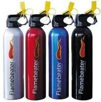 Car aluminum bottles mini car fire extinguisher dry powder fire extinguisher abc