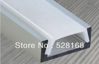 NS-P008 Free shipping, architectural counter LED housing,led bar profile recessed aluminum profile and PC COVER, LED ESTRUSION