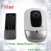3G gsm wireless remote control home security alarm camera