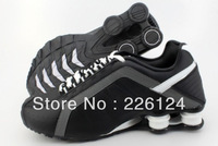 New Arrival Shox Sports r 4 d Athletic trainer Men's running shoes ,shox brand r4 athletic shoes Free shipping