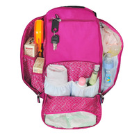 Heine www.qfhenn.com double-shoulder nappy bag fashion bag multifunctional infanticipate bag mother baby bag ya10087