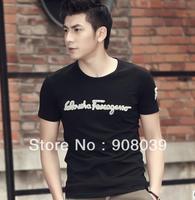 hot sale 2013  New Male Chinese Clothes Fashion Tees,Men T Shirt,Mens Short Sleeve T-shirts,Top Brand Men's Shirts,Drop Shipping