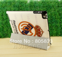 Brand Designer Flip Ultra Slim Real Madrid Football Team Club Stand Leather Case Smart Cover For Apple Ipad 2 3 4 Defender Pouch