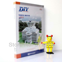 3D Jigsaw Puzzle American White House kids educational toy Kids Birthday gift