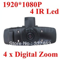 "NTK Chipset 100%Original Car DVR Camera Recorder GS1000 Night Vision Vehicle Blackbox 1.5""LCD 1080P FHD 120Degree,Free Shipping"