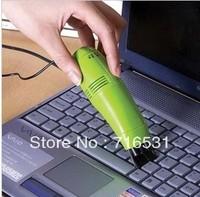 10pcs/lot USB Mini Keyboard vacuum cleaner Practical micro-computer control Cleaning brush